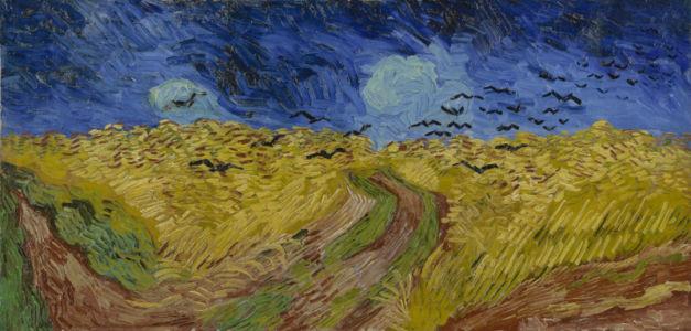 Vincent van Gogh, Korenveld met kraaien, Auvers-sur-Oise, juli 1890, Vincent van Gogh Museum, Amsterdam