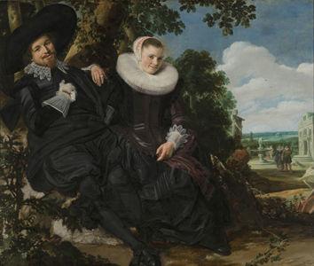 Frans Hals, Portret van een stel, waarschijnlijk Isaac Abrahamsz Massa en Beatrix van der Laen, ca. 1622, Rijksmuseum, Amsterdam