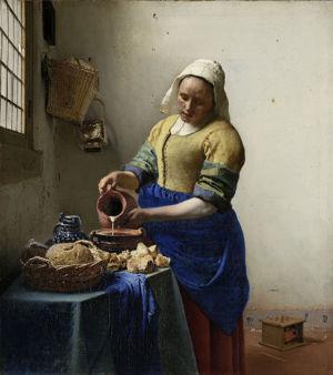 Johannes Vermeer, Het melkmeisje, ca. 1660, Rijksmuseum, Amsterdam