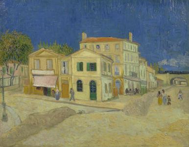 Vincent van Gogh, Het Gele Huis (De straat), september 1888, Vincent van Gogh Museum, Amsterdam