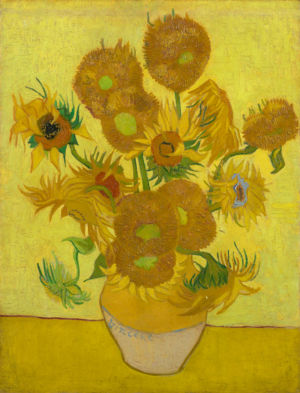 Zonnebloemen  Vincent van Gogh (1853 - 1890), Arles, januari 1889