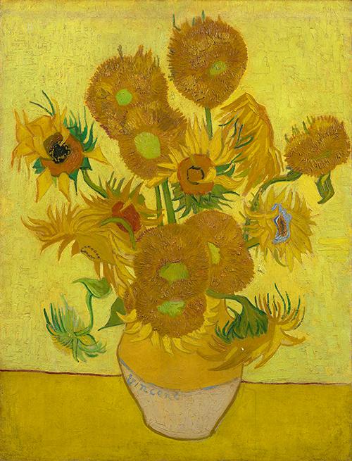 Vase mit fünfzehn Sonnenblumen (Arles, Januar 1889) Van Gogh Museum, Amsterdam. Passen diese Sonnenblumen alle in diese Vase aus der Provence? Erleben Sie mehr während einer privaten Tour.